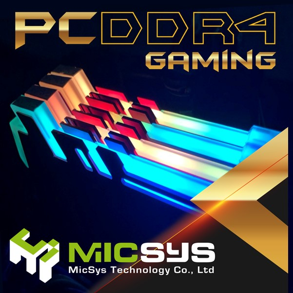 Vibrant LED Lighting RGB DDR4 8GB for desktop PC